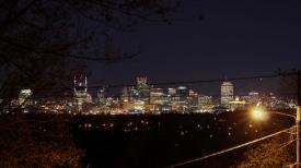 11 nashville skyline at night