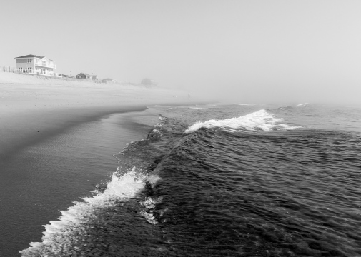 05 newbury beach plum island massachusetts b&w
