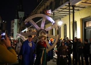 06 joan of arc parade saint catherine on the wheel twelfth night new orleans