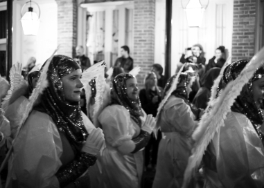 11 joan of arc parade angels b&w twelfth night new orleans