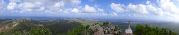 12 curaçao christofell mountain hike panorama