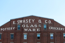 13 e swasey pottery glassware crockery portland maine
