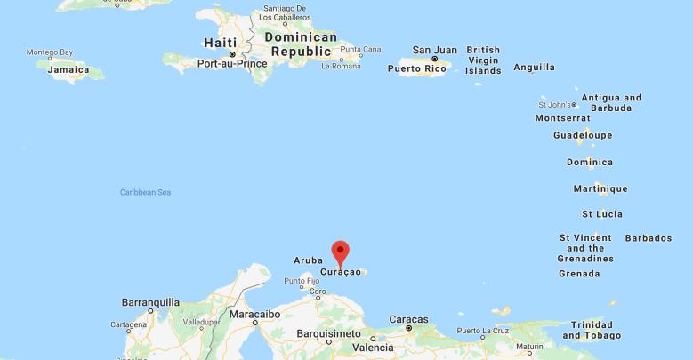 curaçao in the caribbean