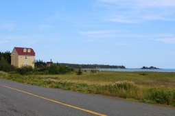 18 yellow house & bay of fundy
