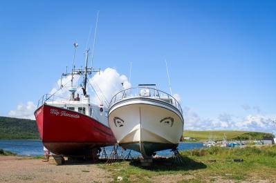 21 bay st. lawrence boats cabot trail cape breton nova scotia