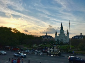 preQ week - 14 jackson square sunset