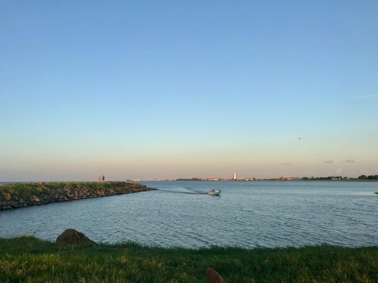 quarantine week 2 - 4 lake pontchartrain sunset