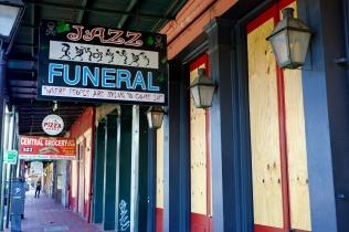 quarantine week 3 - 103 jazz funeral closed