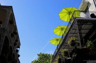 quarantine week 3 - 108 umbrellas balconies