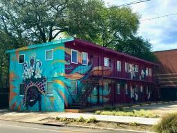 quarantine week 3 - 27 washington ave big chief bo dollis mural