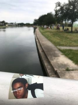 quarantine week 3 - 57 fucking yikes bayou sticker + gatherings