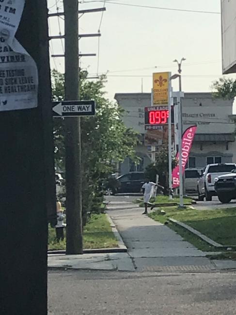 quarantine week 3 - 6 99 cent gas