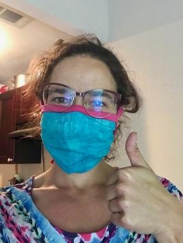 quarantine week 3 - 7 homemade mask
