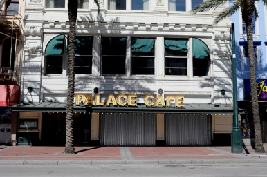 quarantine week 3 - 84 closed palace cafe