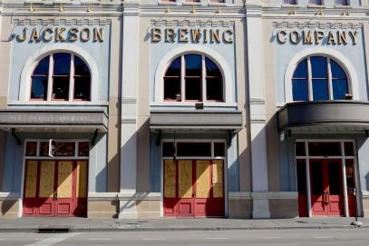 quarantine week 3 - 98 jackson brewing co closed