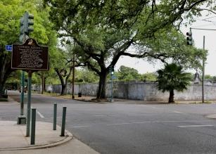 quarantine week 4 - 47 garden district sign