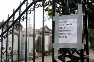 quarantine week 4 - 51 cemetery not so temporarily closed for repairs