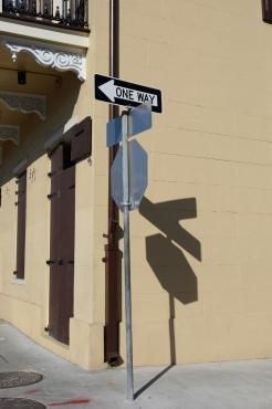 quarantine week 5 - 1 sign shadow on rampart