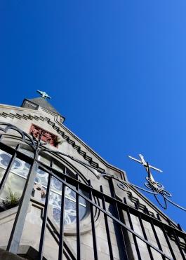 quarantine week 5 - 4 upshot of crosses at saint marks