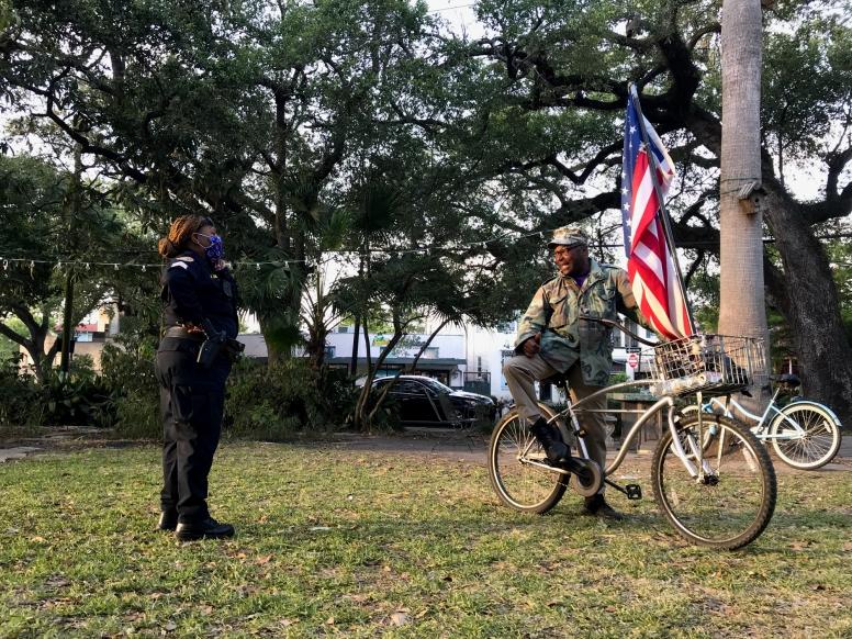 quarantineweek 5 - 12 nopd + american flag guy