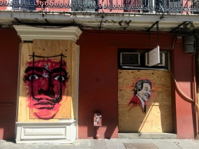 13 french quarter quarantine art josh wingerter salvador dali