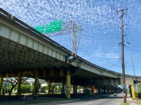15 claiborne bridge vieux carre exit
