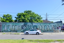 19 st claude harriet tubman mural