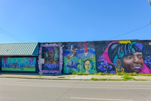 22 st claude murals