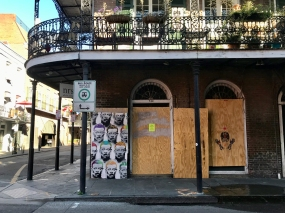 24 french quarter quarantine art