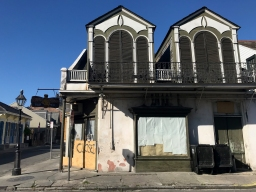26 french quarter quarantine empty city quarter master closed