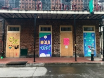 31 french quarter quarantine art oz bruna petalla