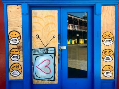 33 covid emojis quarantine mural frenchmen