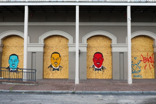 50 ahmaud arbery portraits french quarter quarantine art